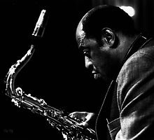 Archie Shepp at Bellerive au Lac - Zurich by Christian Hoefliger