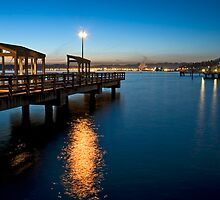 Pier Light II by Bryan Peterson
