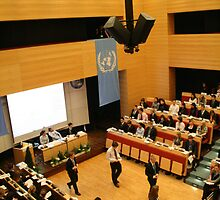 Model United Nations From Above by Chance Dorland