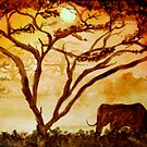 Safari Elephant by Ave Renee