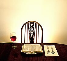 Religion on a plate by stevenjayphoto