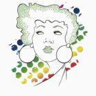 Disco girl -green by Kitzekatze
