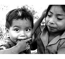 Chorti Children Photographic Print