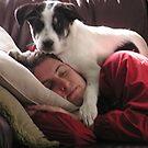 Dublin-dog and daddy by JenniferJW