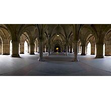 Glasgow University Cloisters. Photographic Print