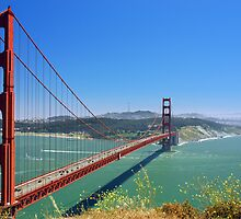 Golden Gate by Dave Johnson