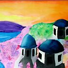 Santorini in Color by Ave Renee