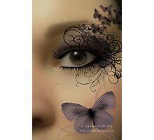 Butterfleye Photographic Print