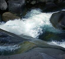 Flowing Waters, Josephine Falls, Tropical FNQ  by Kerryn Madsen-Pietsch