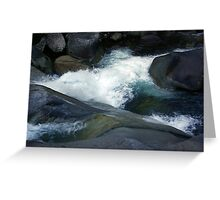 Flowing Waters, Josephine Falls, Tropical FNQ  Greeting Card
