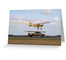 Truck Landing Greeting Card