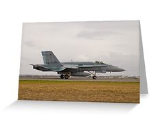 F/A-18 Hornet Greeting Card