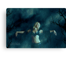 I Dream That I Am The Rain Canvas Print