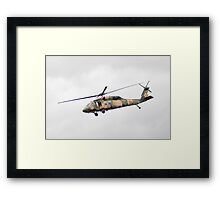 Formidable Blackhawk  Framed Print