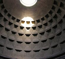 Inside The Roman Pantheon by John Nelson