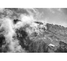 An Afternoon On Penken #10 (Facing The Clouds) Photographic Print