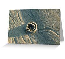 Sand Rose Greeting Card