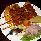 Anticuchos by katymanrique