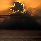 Thunderhead Over the Gulf by Bill Spengler