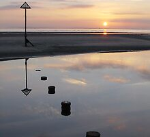 West Wittering Sunset by Paul Rumsey
