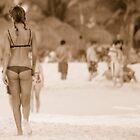 Playa Girl by Hans Christopher Hunter