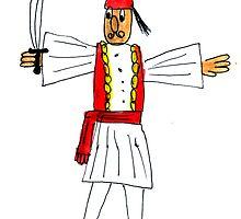 Greek Warrior (2) by Fotis