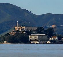 Alcatraz Island's Prison, North side by Lenny La Rue, IPA