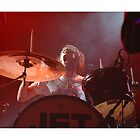 Jet Drummer Chris Cester by roadwarrior