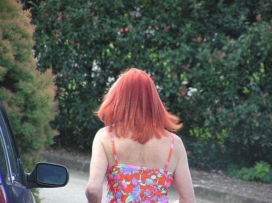 The Redhead  by Virginia McGowan