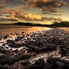 Saltwater beach by Rodney Trenchard