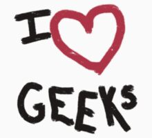 I heart Geeks by CaptainLust