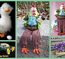 Easter collage by Paola Svensson