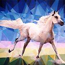 Prismatic Arabian Mare by Joseph Barbara