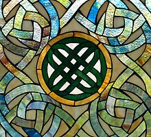 Celtic Stained Glass (381 views) by BarbL
