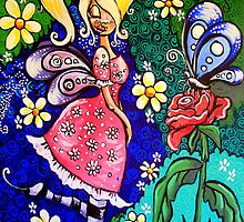 Fifi and the butterfly by missmilly