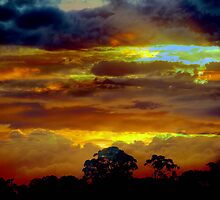 Stormy Sky by Clive
