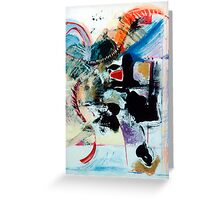 Transcendance (Abstract 92)  Greeting Card