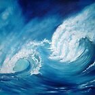 vague bleue by azizhounti