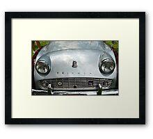 The art of the car: Triumph TR-3A (1962) Framed Print