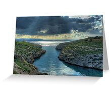 Mgarr Ix-Xini Greeting Card