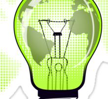 The Green Glow Sticker