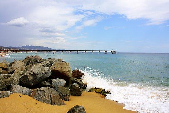Las Playas de Espana by Alison Simpson