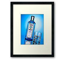 Advertising - Bombay Sapphire Framed Print