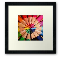In order to have friendship you must look past the color to the soul, because within the soul lies a rainbow of many colors - Lyman Frank Baum Framed Print