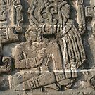 Xochicalco Sun Temple - High Relief Image by Allen Lucas