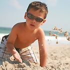 Enjoying Sand by finnsfotos