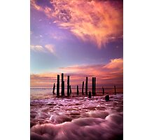 Wave Motion - Port Willunga. Photographic Print