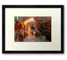 Heavenly alley Framed Print