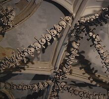 Sedlec Ossuary Ceiling by SHOI Images