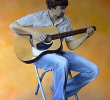 Robert Bray 2006 - Oil on canvas by Claire Aberlé